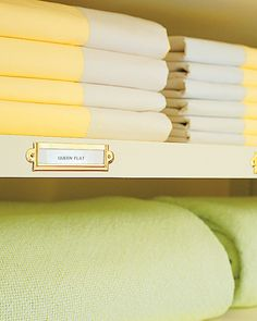 labels for linen closets
