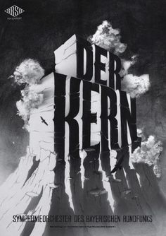 Typeverything.com Poster (8 of 13) from a campaign for the Bavarian Radio Symphony Orchestra by Mirko Borsche.