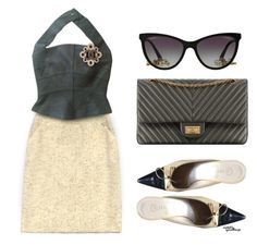 """""""* c h a n e l *"""" by eyesondesign ❤ liked on Polyvore featuring Chanel and eyesondesignfashion"""