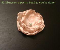 fancier satin flowers, flower rings, flower/pearl necklaces & felt flowers!  love the mrspriss website!