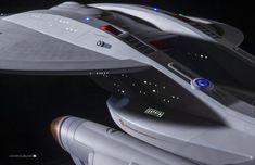 Port detail scale by Bill Krause Star Wars, Star Trek Tos, Star Trek Models, Starfleet Ships, Sci Fi Spaceships, Star Trek Characters, Star Trek Starships, Spaceship Design, Sci Fi Ships