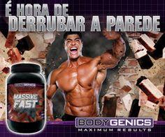 É destinado a pessoas que buscam ganhar rapidamente peso e massa muscular de qualidade. Massive Fast contém uma proporção ideal de carboidratos, proteínas nobres e gorduras, ideal para quem quer ganhar massa magra sem engordar.