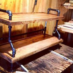 The Steam Punk Decor Pallet Shoerack – Rustic decor Industrial design pallet shelf floor shelf with - Signatures. Diy Pallet Furniture, Pipe Furniture, Diy Pallet Projects, Industrial Furniture, Wood Projects, Pallet Ideas, Furniture Ads, Furniture Dolly, Pallet Designs