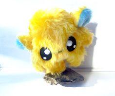 Fluse Kawaii Plush Cute Monster Little Dreamer Stuffed Animal Yellow