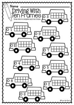 Worksheets Busy Work Worksheets 1000 images about wonderful worksheets on pinterest ten frame busy work teacherspayteachers com