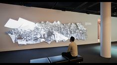 3D projection screen - National Museum of American Jewish History - Local Projects