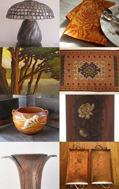 Arts and Crafts Style Harvestime by Debra L. Boudreau on Etsy--Pinned with TreasuryPin.com