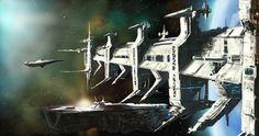 Orbital Docks by derbz.deviantart.com on @DeviantArt