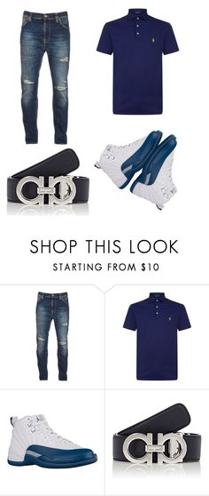 """""""Untitled #13"""" by lawrenceallen ❤ liked on Polyvore featuring Nudie Jeans Co., Polo Ralph Lauren, Salvatore Ferragamo, men's fashion and menswear"""
