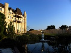 Believe it or not, there are castles in the Texas Hill Country near Austin! This is Falkenstein Castle.