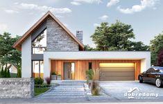 Modern Barn House, Modern House Facades, Modern House Design, Modern Architecture, Home Modern, Pavilion Architecture, Sustainable Architecture, Residential Architecture, Bungalow Renovation