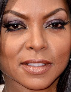 Celebrity photos that are really close-up. Celebrities with bad skin,. Red Carpet Makeup, Taraji P Henson, Olivia Pope, Queen B, Close Up Photos, Celebs, Celebrities, Makeup Art, Celebrity Photos