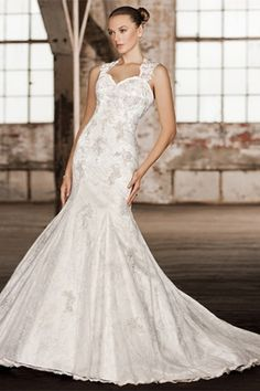 2014 New Sexy Cap Sleeves Lace Mermaid Wedding Dresses Beaded Crystals  Bridal Gown 116298202c2b