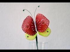 Manualidades - Mariposas para adornar. Butterfly