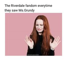 Grundy from the story Riverdale Memes And Quotes! by MoonlightAnimal (Rose) with 155 reads. Bughead Riverdale, Riverdale Archie, Riverdale Funny, Riverdale Memes, Betty Cooper, Alice Cooper, Riverdale Cole Sprouse, Betty And Jughead, A Silent Voice