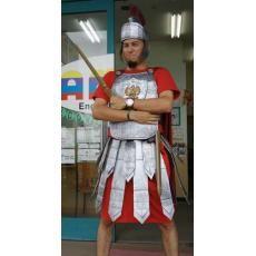 Déguisement de Romain fait maison - Déguisement à faire soi même sur ecoBricolos.com ( Fête & Evènement )