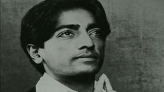 J. Krishnamurti Photo