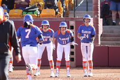 Gator Softball Caps Off Undefeated Weekend in Tempe with 14-3 Win Over No. 13/14 Arizona Sunday, Goes to 5-0