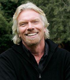Sir Richard Branson of  Virgin Companies