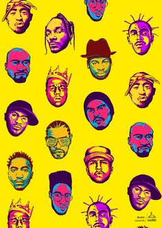 This post is part of our daily series of posts showing the most inspiring images selected by some of the Abduzeedo's writers and users. Tupac Wallpaper, Rapper Wallpaper Iphone, Arte Do Hip Hop, Hip Hop Art, Pop Art, Arte Dope, Ouvrages D'art, Hip Hop And R&b, Cute Wallpapers