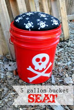 Bucket Seat--Maybe fill it with stuff for camping, and away you go!
