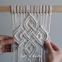 Macrame Design, Macrame Art, Macrame Jewelry, Macrame Wall Hanging Patterns, Macrame Patterns, Macrame Wall Hangings, Geometric Patterns, Quilt Patterns, Macrame Supplies