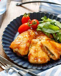高たんぱくで #ヘルシー !鶏ささみで作る満足感いっぱいのおかず8選|#おうちごはん Junk Food, Japanese Food, Tandoori Chicken, French Toast, Menu, Tasty, Cooking, Breakfast, Ethnic Recipes