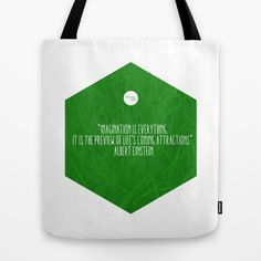 Imagination Is Everything Tote Bag by Growing Ideas - $22.00 Albert Einstein, Everything, Imagination, Reusable Tote Bags, My Love, Life, Shopping, Ideas, Fantasy