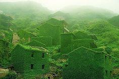 Fotografin Jane Qing: Auf der chinesischen Insel Gouqi liegt ein verlassenens Fischerdorf, das zum Archipel Shengsi gehört.