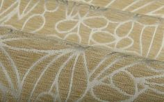 In the Garden Outdoor Fabric in Cream is a floral jacquard upholstery fabric perfect for patio furniture or high traffic indoor areas. Bright and fun, the floral design has an interesting relief/textured effect due to the chenille yarn. Available in multiple colorways!