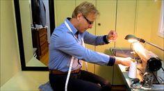 Making of a true Bespoke overcoat by Rudolf Popradi Master Bespoke Tailor