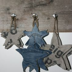 denim_star_ornaments