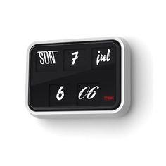Font Clock by Sebastian Wrong