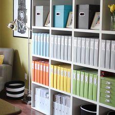 A peek inside Becky Higgin's  home office.