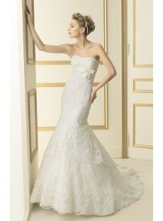 Lace Trumpet Mermaid Wedding Dress