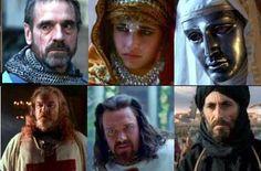 Balduíno IV e seus contemporâneos... Dos livros de história para as telas de cinema.