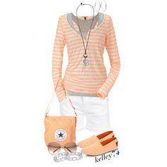 peach - love that colour!