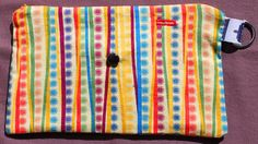 Spoonie Bag YELLOW SUN STRIPES  portable self-care by LucilleSews Yellow Sun, Self Care, Handmade Items, Stripes, Bags, Design, Products, Handbags, Personal Care