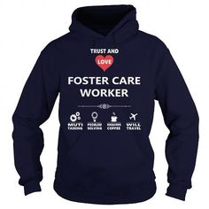 I Love FOSTER CARE WORKER JOB TSHIRT GUYS LADIES YOUTH TEE HOODIE SWEAT SHIRT VNECK UNISEX JOBS Shirts & Tees