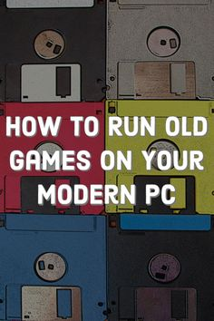 Want to play retro computer games on Windows The older a game is, the less likely it is to work right out of the box on a new PC; these tricks can help. Alter Computer, Gaming Computer, Computer Password, Computer Help, Computer Technology, Pac Man, Wii Games, Games To Play, Playing Games