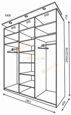 Walk In Closet Design, Bedroom Closet Design, Bedroom Furniture Design, Home Room Design, Bedroom Built In Wardrobe, Bedroom Wardrobe, Wardrobe Closet, Bedroom Cupboard Designs, Bedroom Cupboards