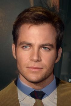 """William Shatner and Chris Pine as Captain Kirk 
