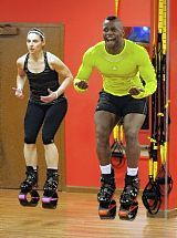 Benefits of rebound exercise with Kangoo Jumps