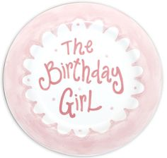 By the LOVELY Magnolia Creative, a gorgeous Scalloped Birthday Plate-scalloped, scallop, birthday, birthday plate