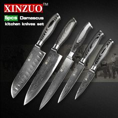 Reviews XINZUO 5 pcs kitchen knife set 73 layers Damascus kitchen knife Japanese chef cleaver knife color wood handle free shipping ☼ Shop XINZUO 5 pcs kitchen knife set 73 layers Damascus  Express will  XINZUO 5 pcs kitchen knife set 73 layers Damascus kitchen knife Japane  Recommended : http://shop.flowmaker.info/XVUGo    XINZUO 5 pcs kitchen knife set 73 layers Damascus kitchen knife Japanese chef cleaver knife color wood handle free shippingYour like XINZUO 5 pcs kitchen knife set 73…