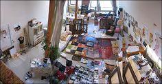 Sabrina Ward Harrison's Studio