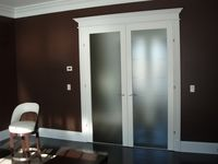 Interior French Doors Opaque Glass front door, frosted glass panels | doors | pinterest | frosted