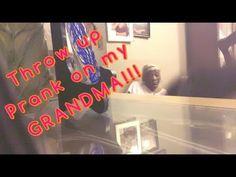 throw up pranks on my grandmother #pranks #funny #prank #comedy #jokes #lol #banter