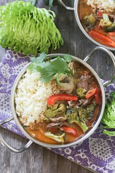 #paleomg #paleo Red Thai Beef Curry