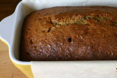 No-fail banana bread with coconut oil.  I just tried this recipe and it is definitely a keeper!